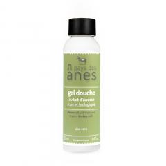 Gel douche au lait d'ânesse frais et biologique Aloe Vera 250 ml