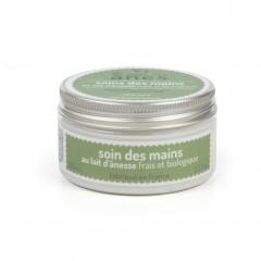 Crème pour les mains au lait d'ânesse frais et biologique Aloe Vera 100 ml