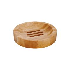 Porte savon en bambou rond