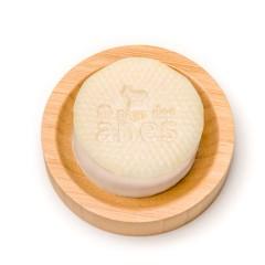 Shampoing solide au lait d'ânesse biologique avec support Au Pays des Ânes