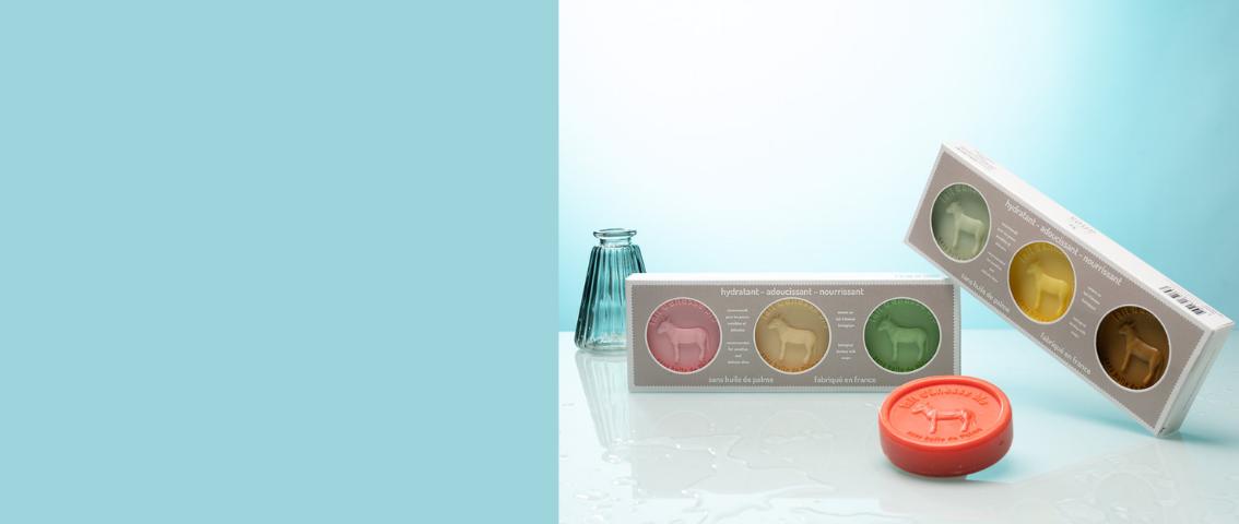 1 coffret savons offert